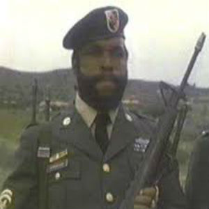 Hollywood Branded Mr. T military