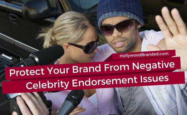 Negative Celebrity Endorsment