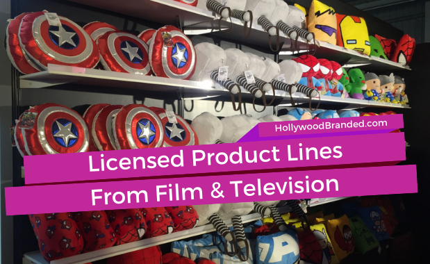 New Blog Template - Licensed Product Lines From Film and Television