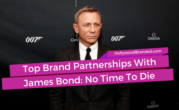 No Time To Die James Bond Promotional Partnerships