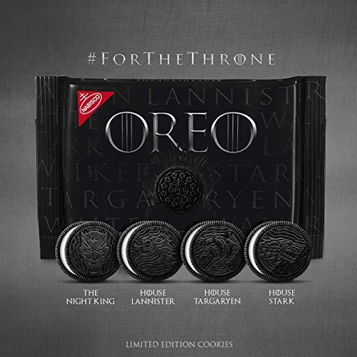 Oreos Game of Thrones