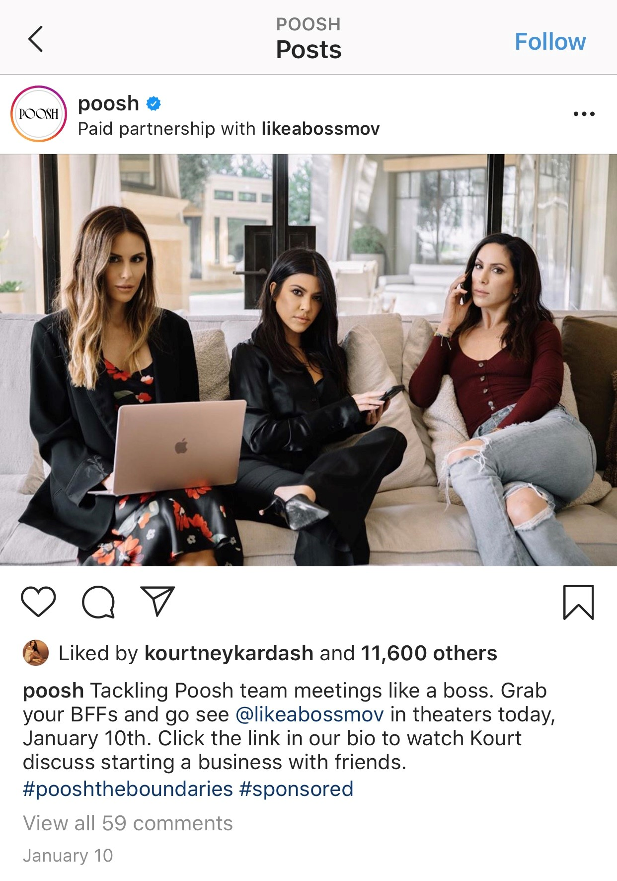POOSH IG