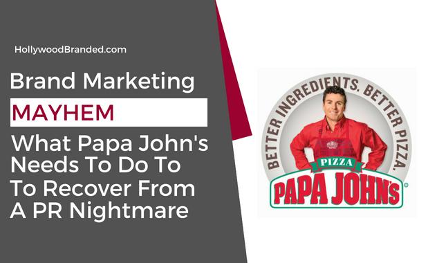 PR Nightmare Papa John's