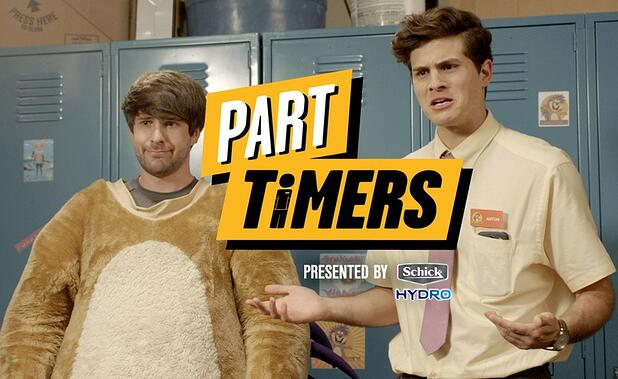 Hollywood Branded looks at YouTube's new sponsored series, Part Timers