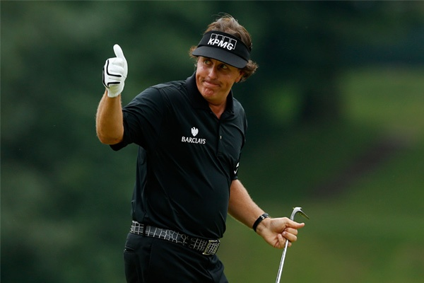 Phil Mickelson Barclays