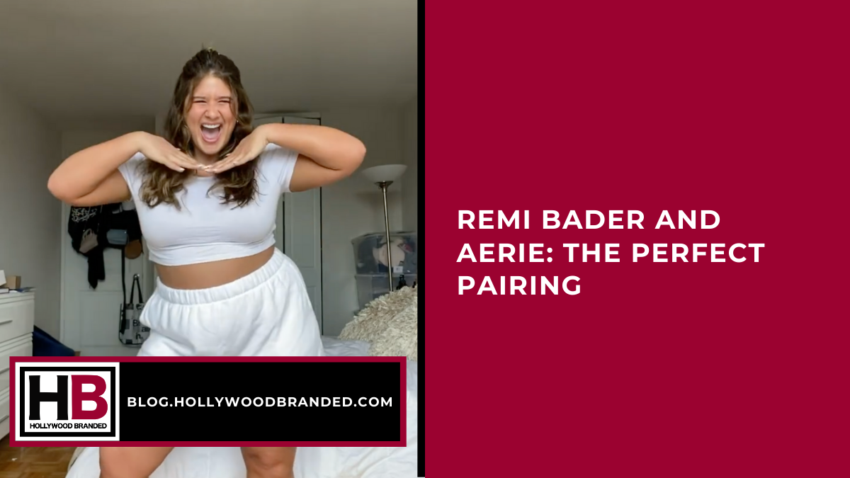 Remi Bader and Aerie The Perfect Pairing  (1)