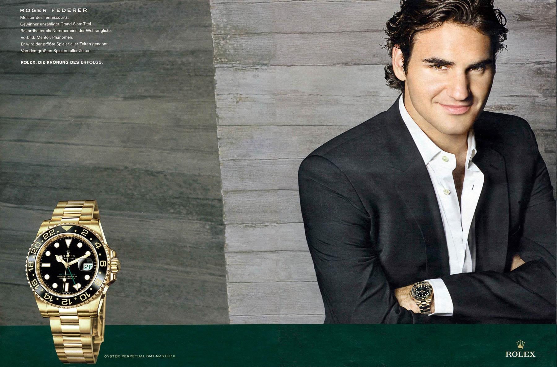 Roger Federer Rolex