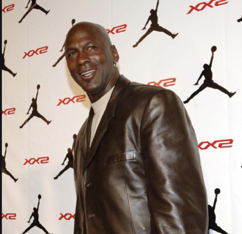 Michael Jordan Red Carpet Promotes Nike Celebrity Endorsement