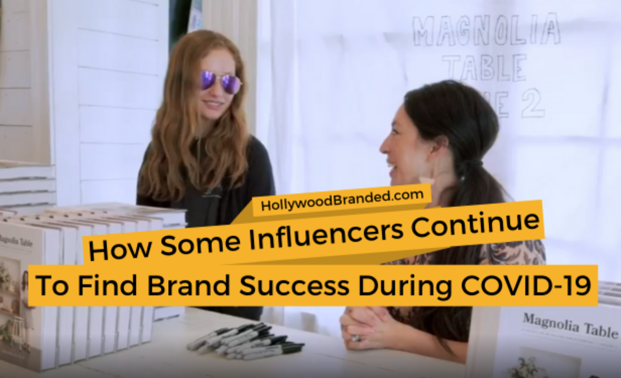 how some social media influencers continue to find brand success during COVID-19