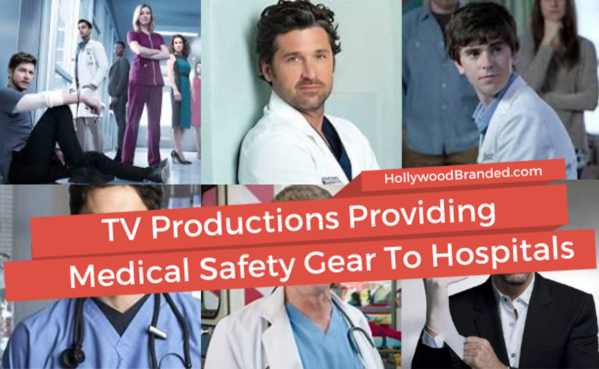 TV Production Providing Medical Safety Gear to Hospitals