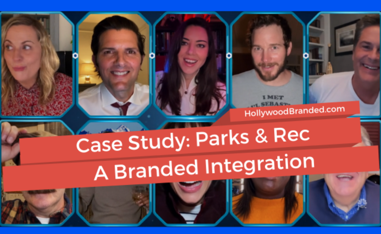 Case Study: Parks & Rec branded integration
