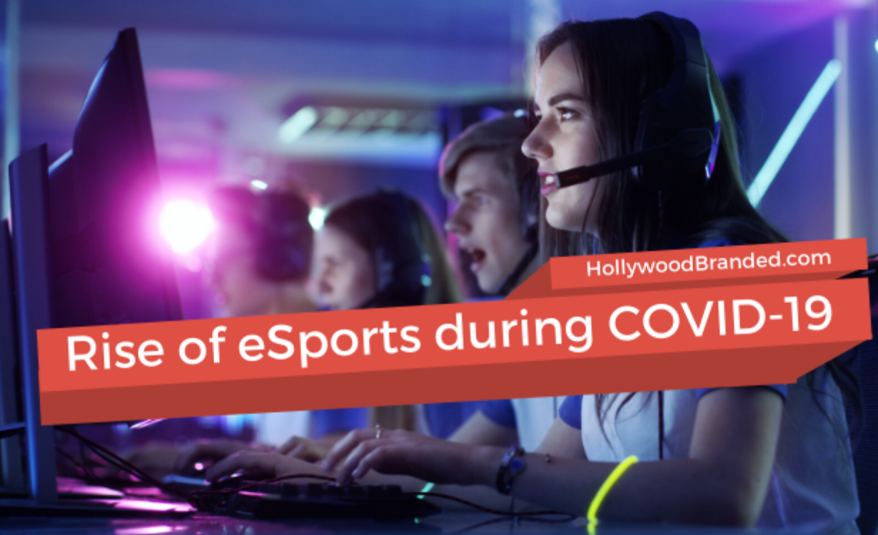 Rise of E-Sports during COVID-19