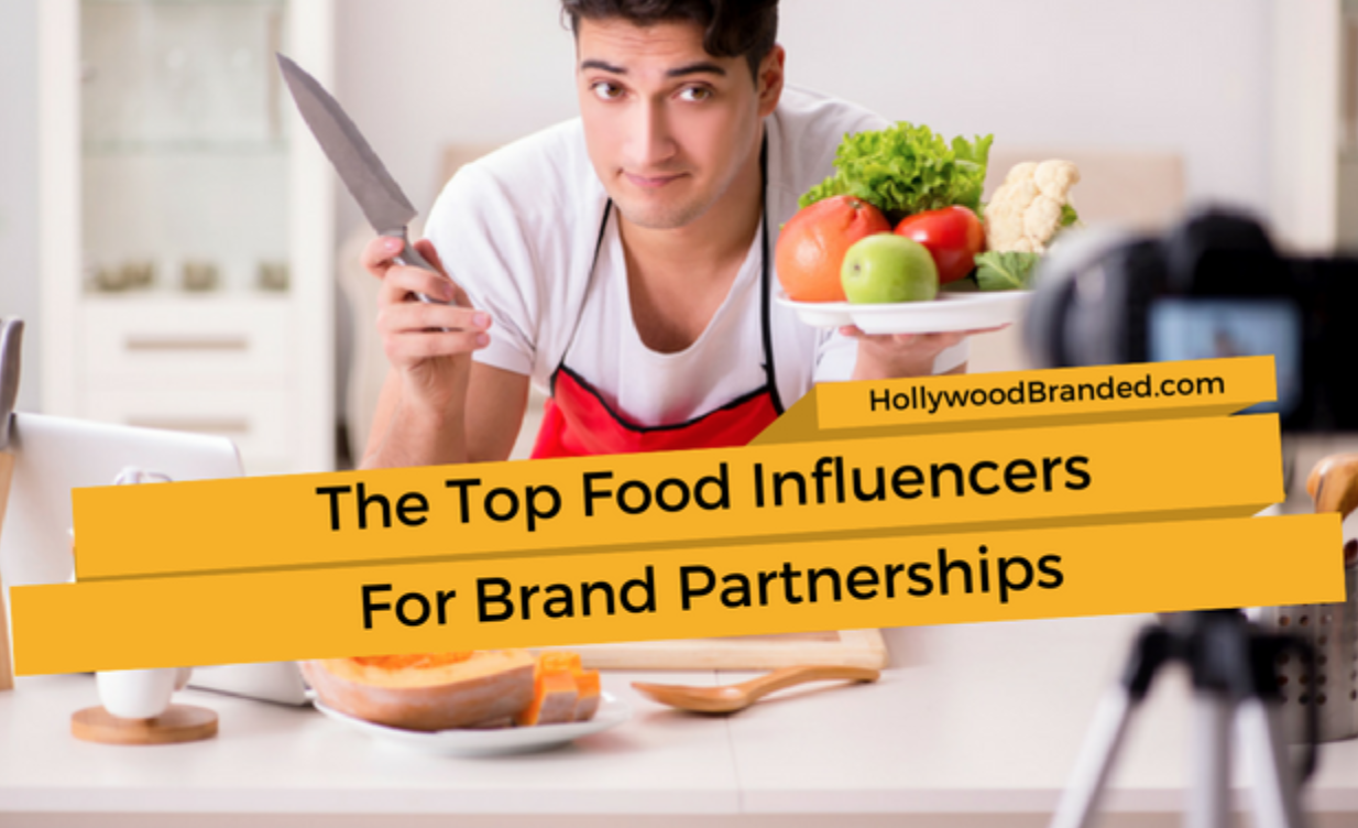 Top food influencers for brand partnerships