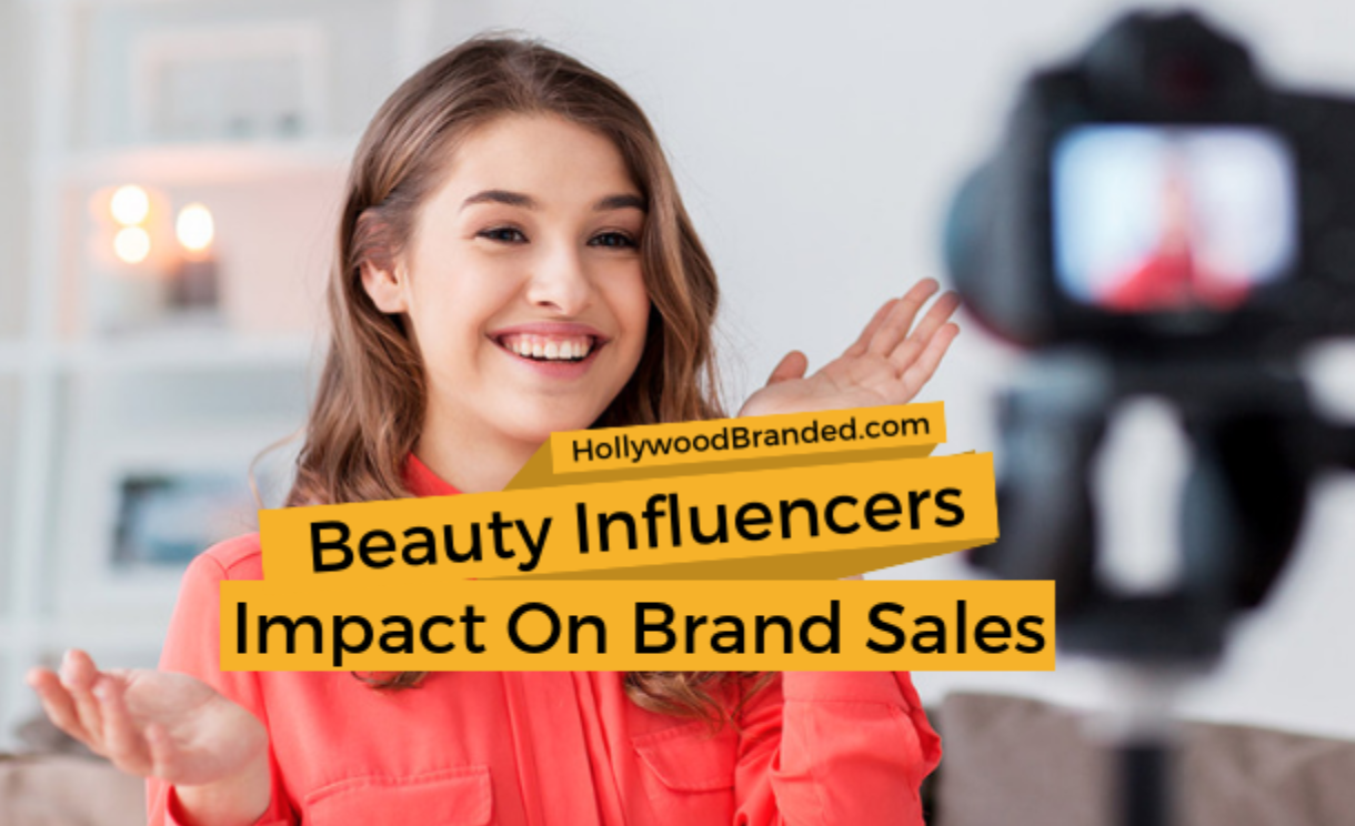 Beauty influencers' impact on brand sales