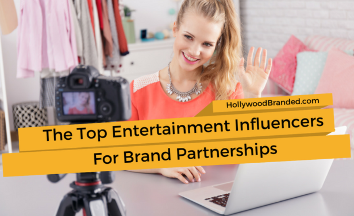 Top entertainment influences for brand partnerships