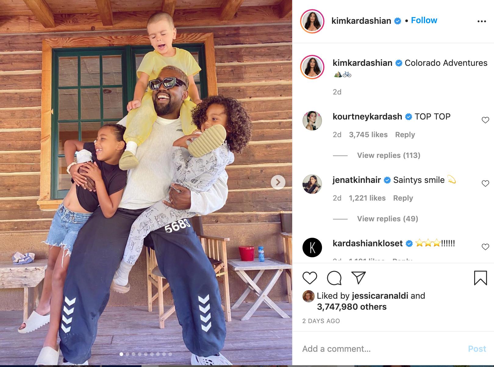 Kim Kardashian instagram