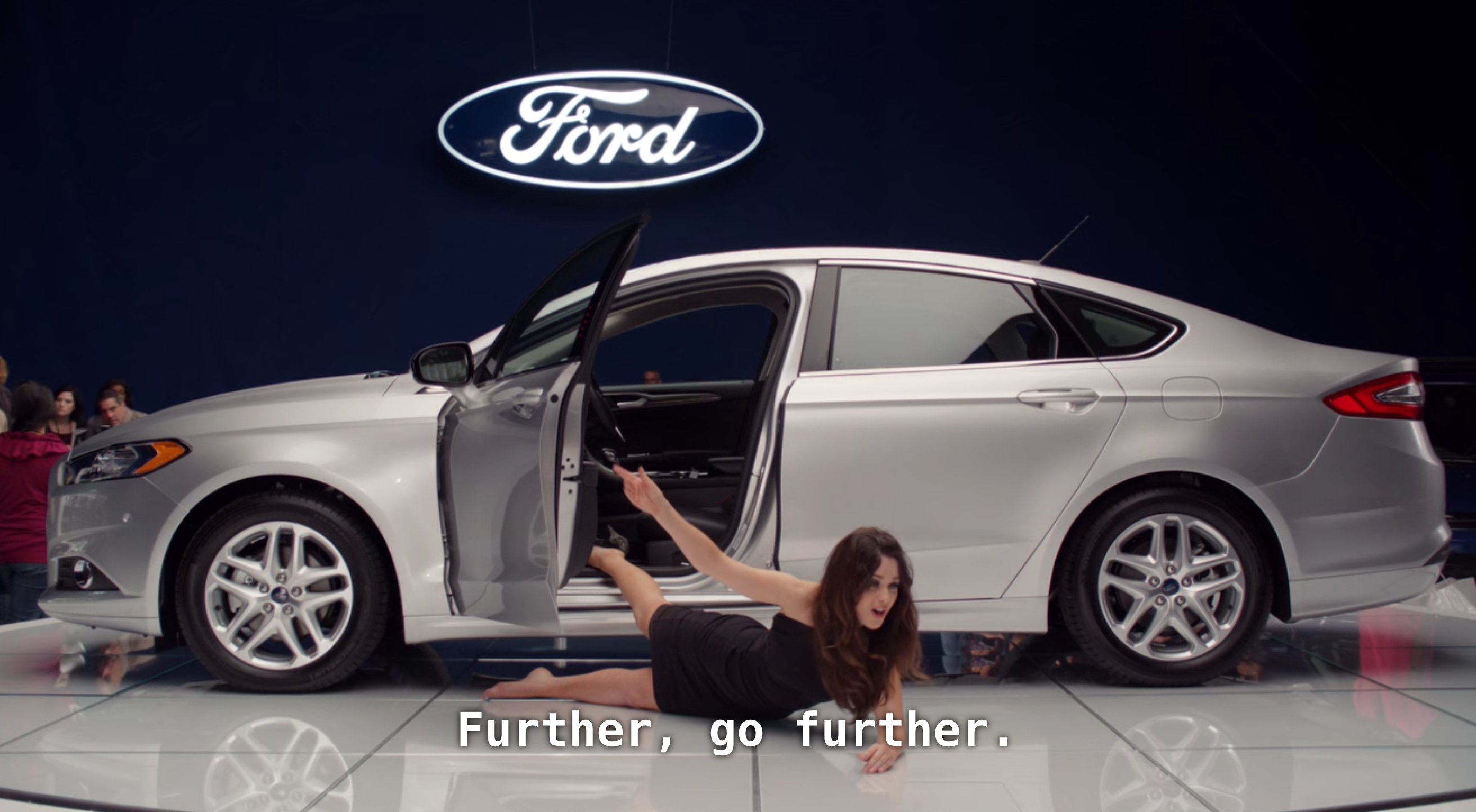 New Girl x Ford Fusion
