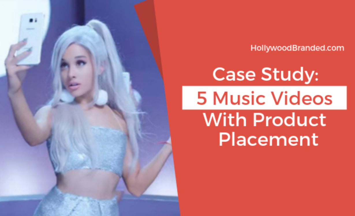 Case Study: 5 Music Videos with Product Placement
