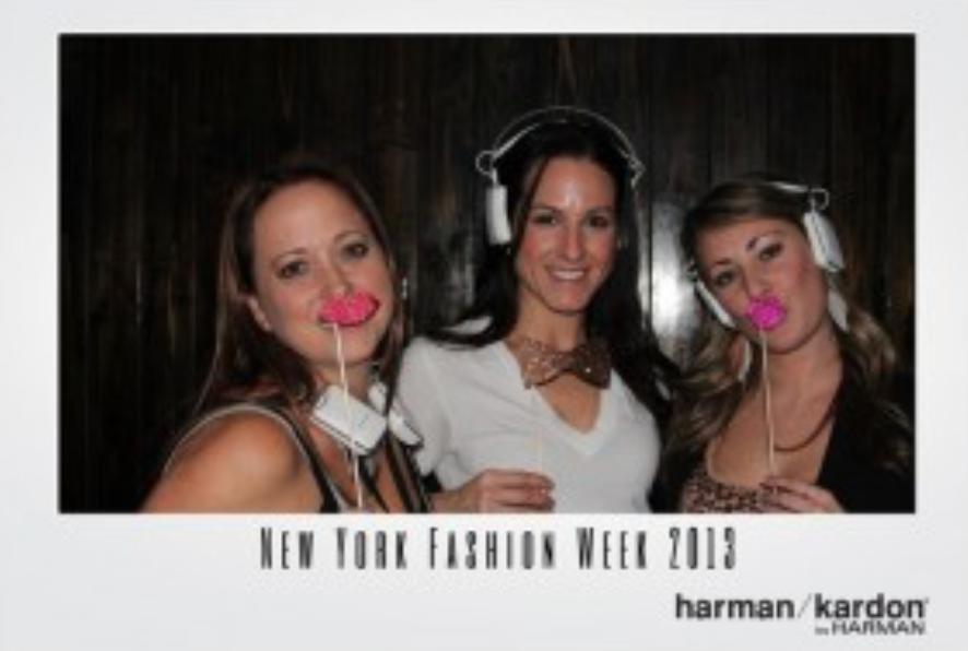 Hollywood Branded at NYFW harman/kardon