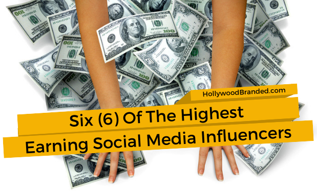 Six (6) Of The Highest Earning Social Media Influencers
