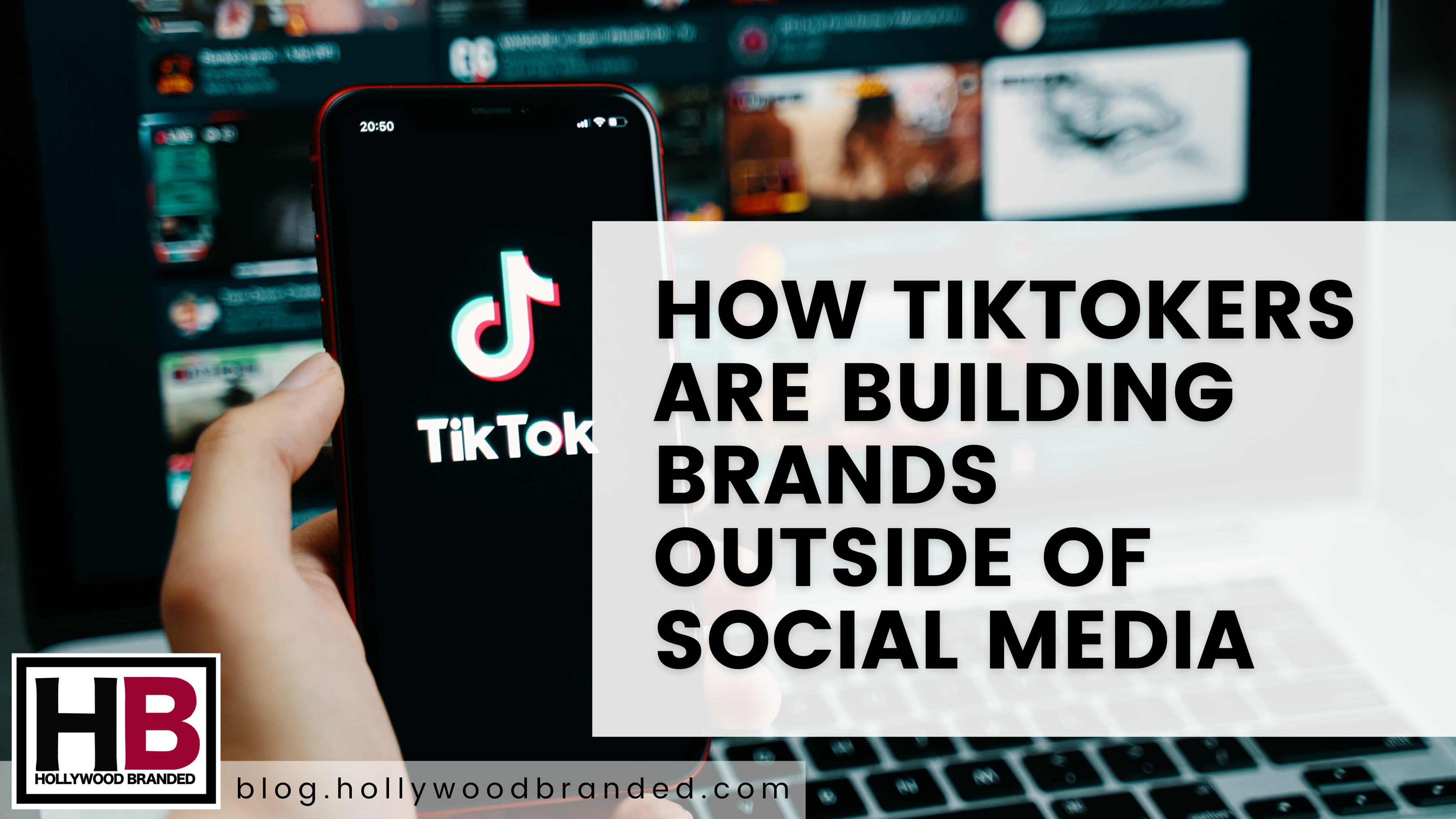 How TikTokers Are Building Brands Outside Of Social Media