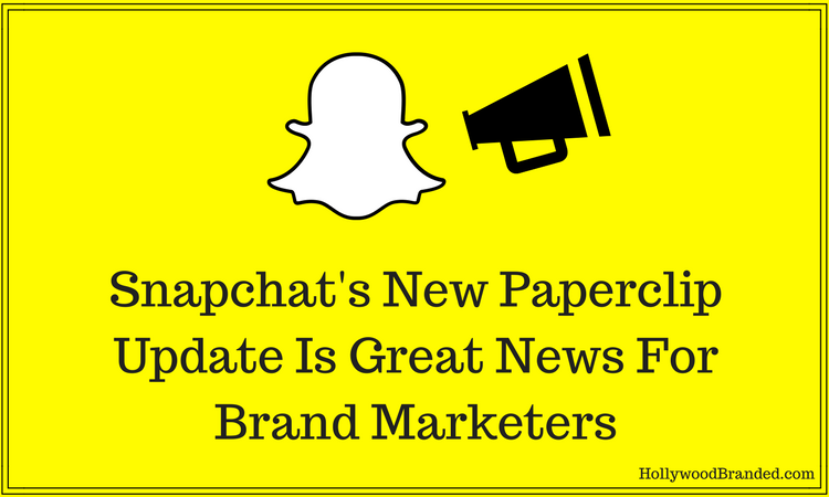 Snapchat's New Update Is Great News For Brand Marketers
