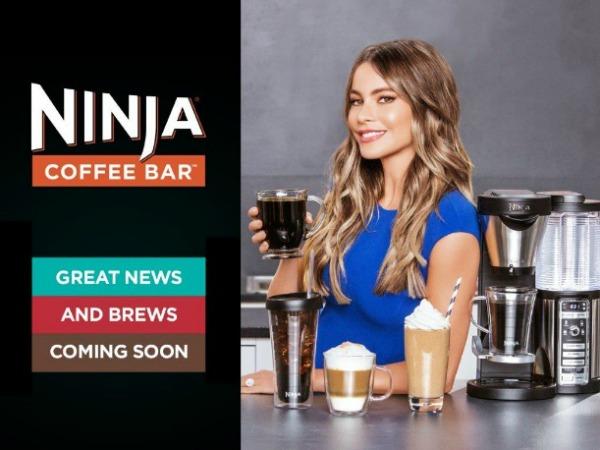 Sofia Vergara x Ninja Coffee Bar