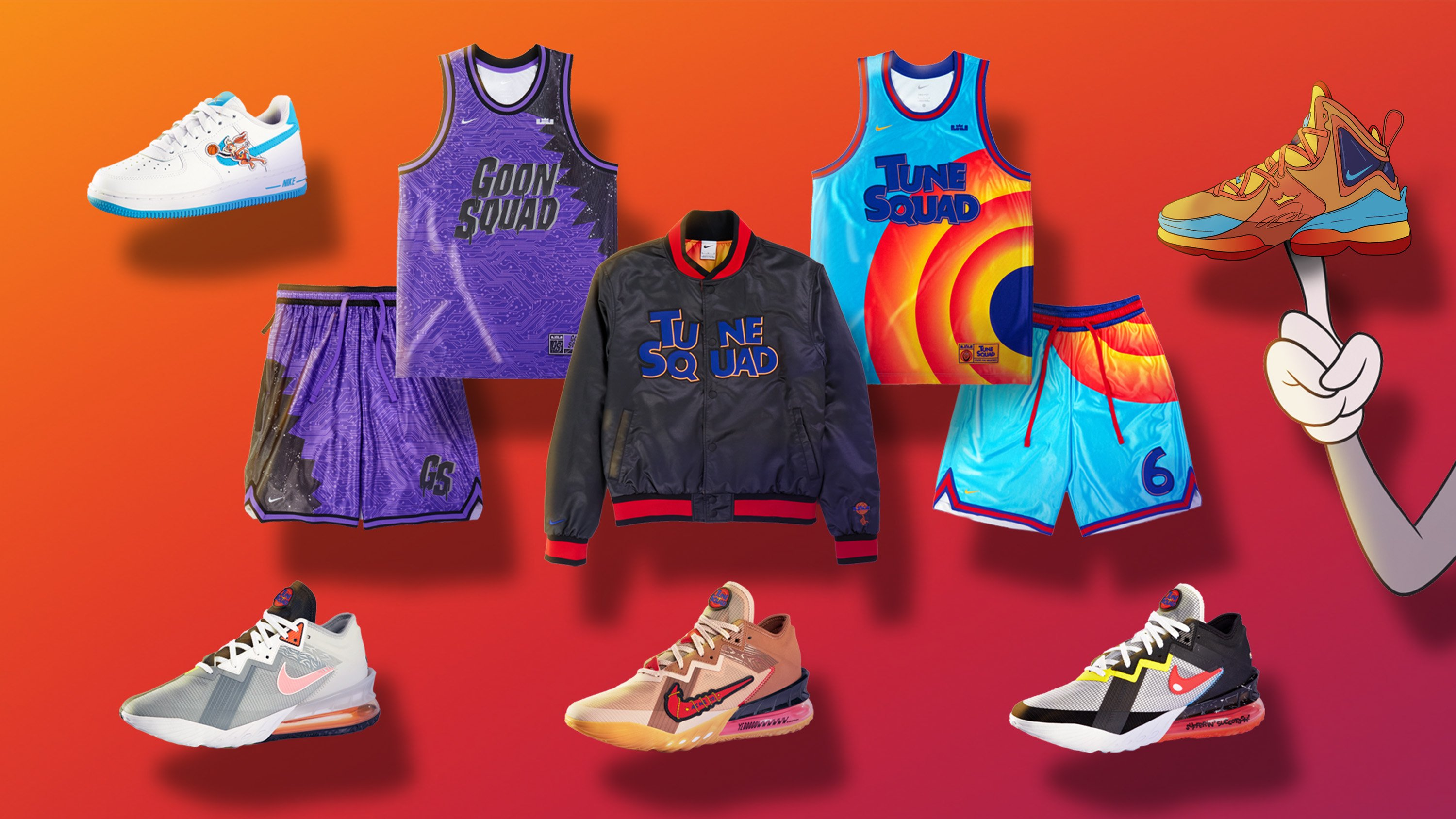 Spacejam nike collection