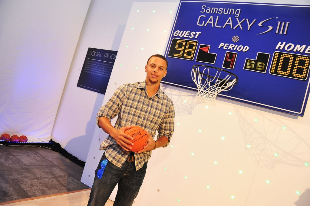 Stephen Curry Samsung