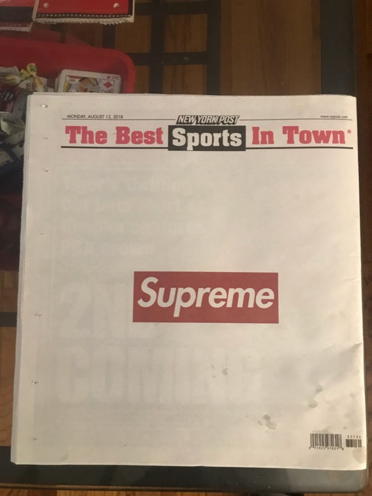 Suprem newspaper