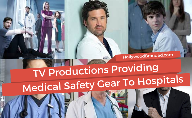TV Productions Providing Medical Safety Gear To Hospitals