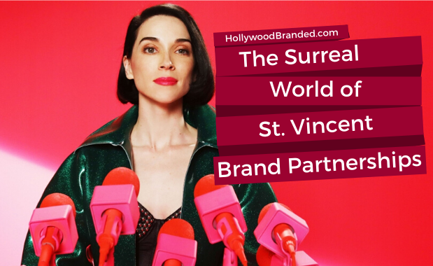 The Surreal World of St. Vincent Brand Partnerships