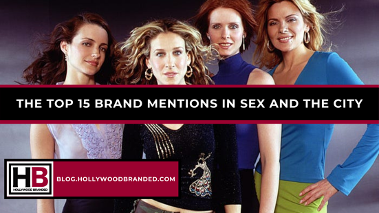 The Top 15 Brand Mentions In Sex And The City