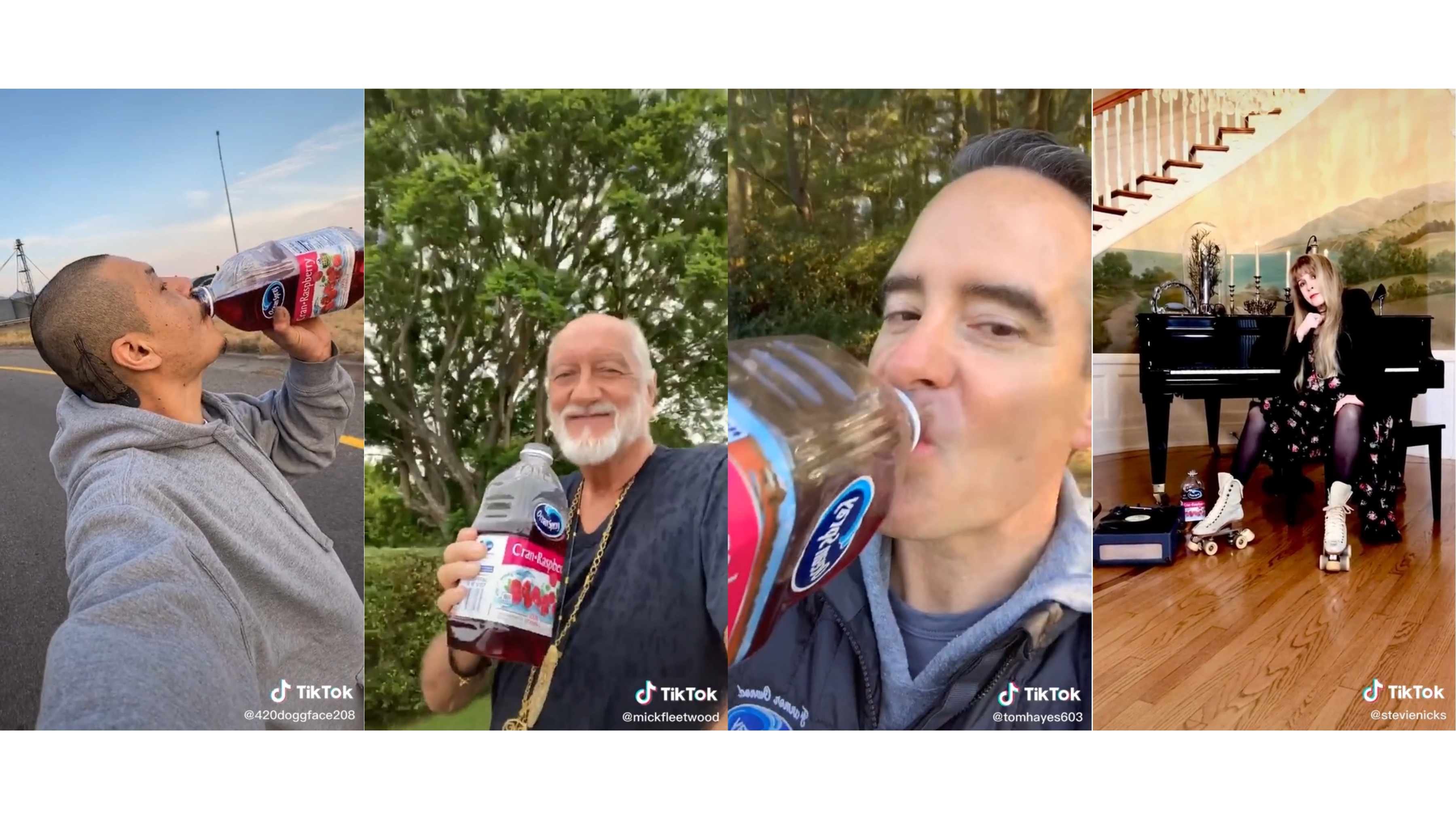 TikTok X Ocean Spray Compilation
