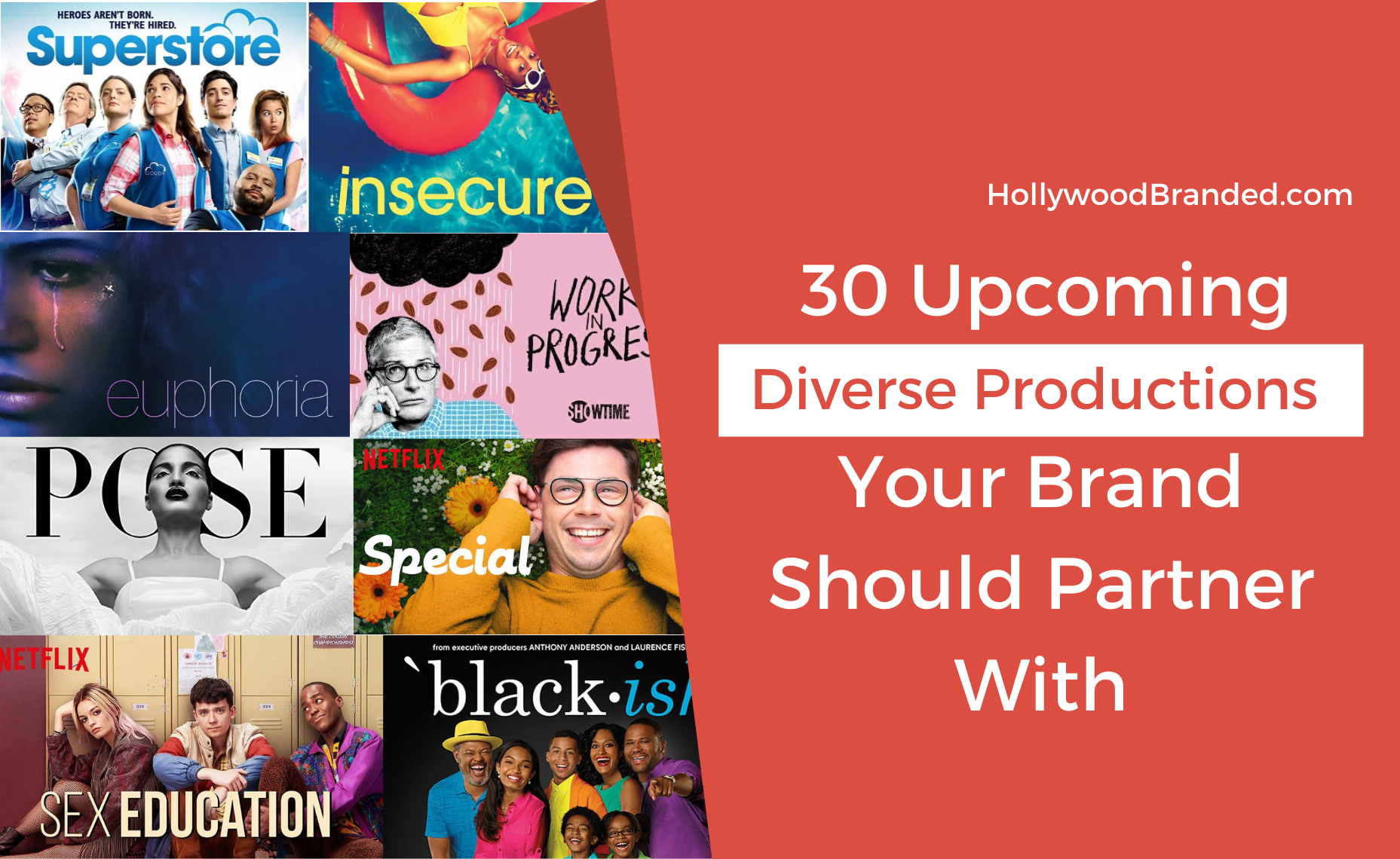 diversity, hollywood, inclusive, marketing, upcoming productions, tv shows, films