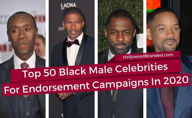 Top 50 Black Male Celebrities And Their Social Media Reach 2020