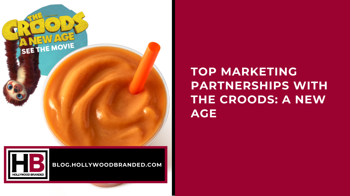 Top Partnerships with The Croods 2