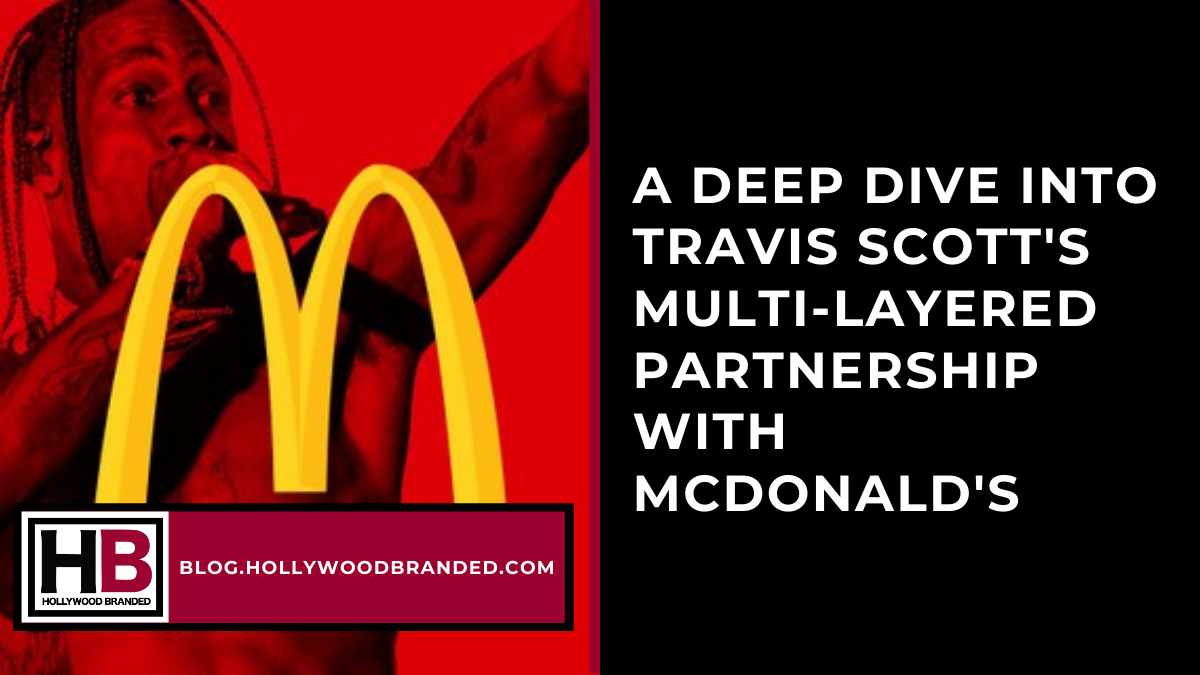 Travis Scott McDonalds Partnership