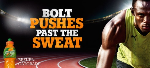 Usain Bolt Gatorade