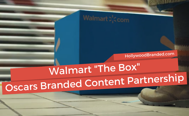 Walmart The Box Oscars Branded Content Partnership