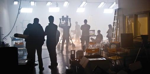 acting on set