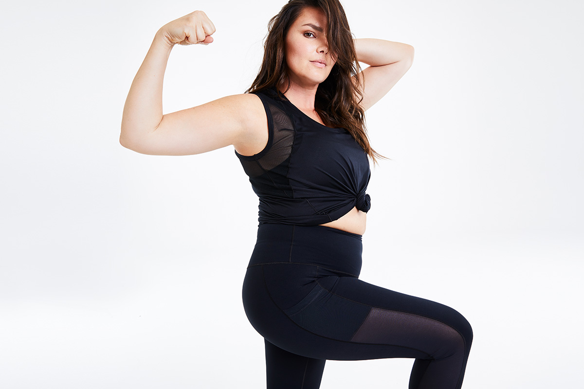 Day/Won by plus-sized model Candice Huffine is made for all body types