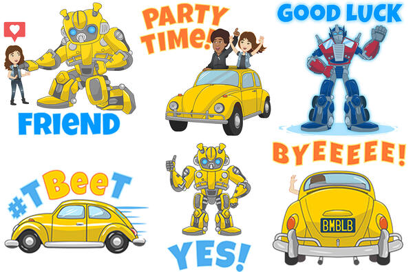 bumblebee-stickers