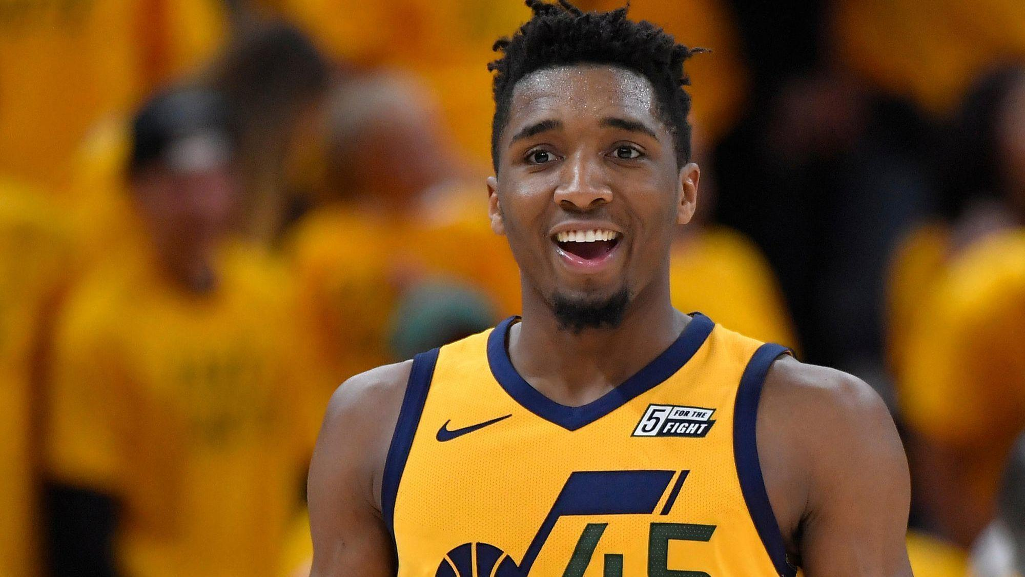 donavan mitchell golden state warriors rakuten sponsorship