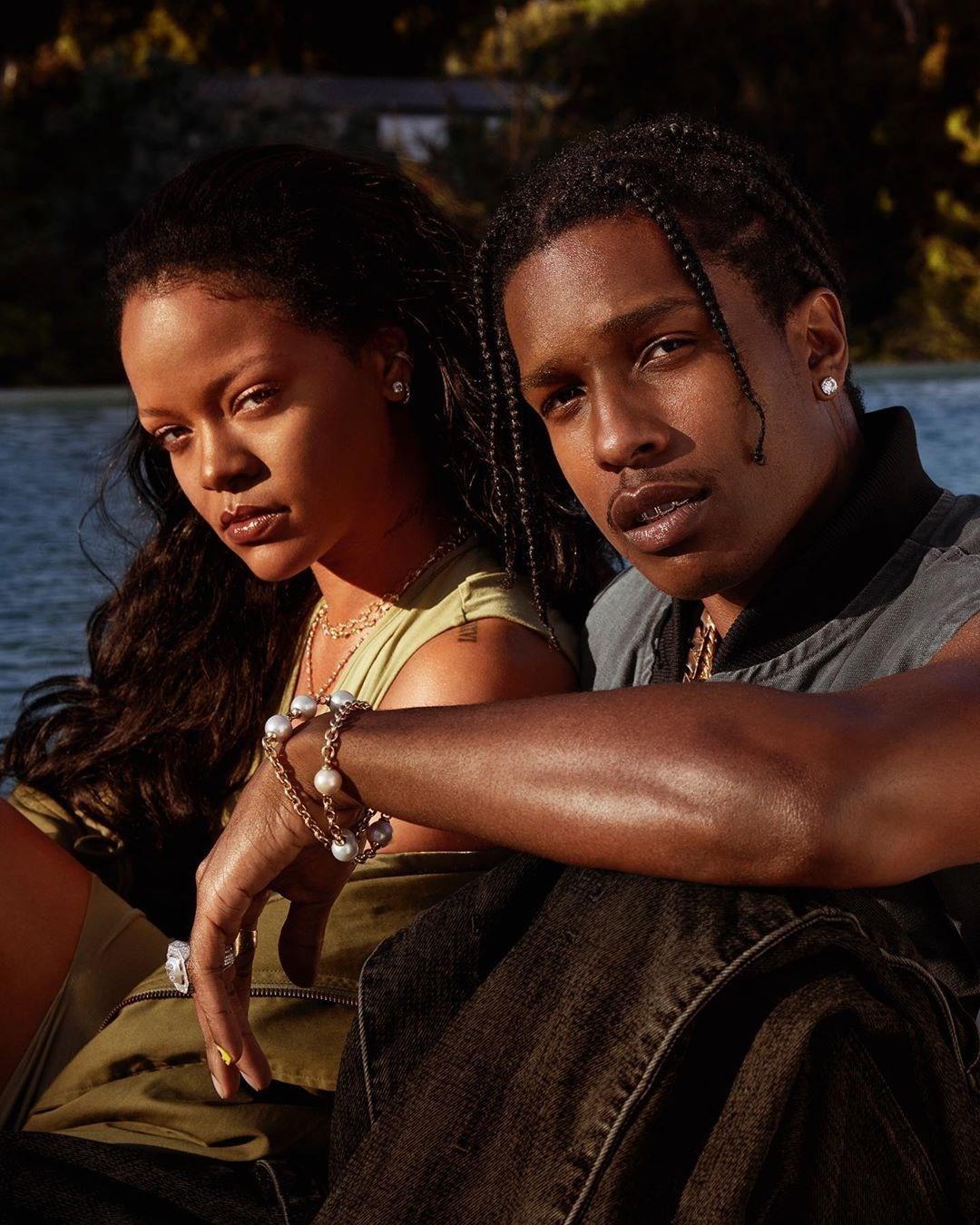 fenty skin, asap rocky, Rihanna, male beauty, celebrity partnership, influencer marketing, asap rocky and Rihanna Fenty skin