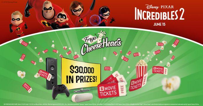 Frigo Cheese Heads Incredibles 2