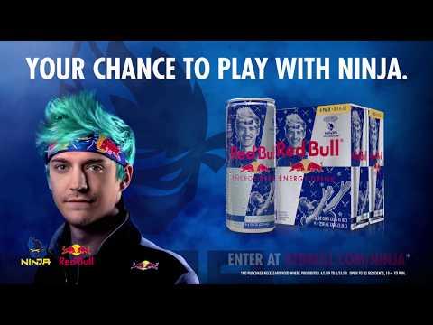 Ninja, Red Bull, Gaming partnerships, influencer partnerships, esports, Streaming, Twitch, YouTube