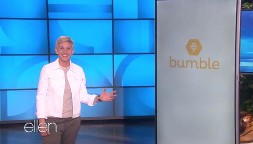 Ellen DeGeneres Product Placement Integration Partnerships That Work - Bumble