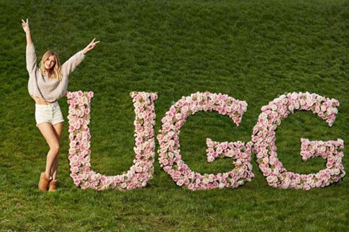 Rosie Huntington-Whiteley Ugg Fashion Ambassador Partnership