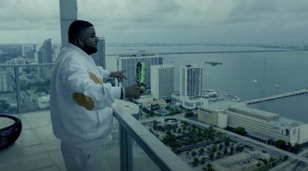 "DJ Khaled holds a Four Loko can in his music video for ""I'm On One"" in his latest brand partnership with Four Loko"